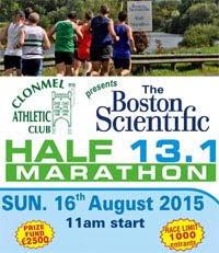 Clonmel Half-Marathon...Sun 16th Aug