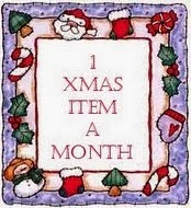 1 X-mas item a Month