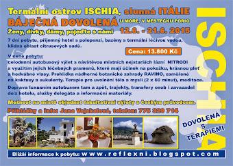 <b>DOVOLENÁ ITÁLIE - OSTROV ISCHIA</b>