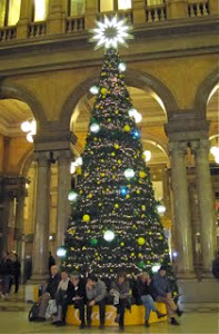 Christmas tree in Rome