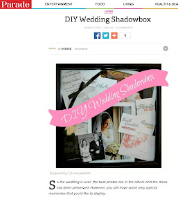 DIY Wedding Shadowbox
