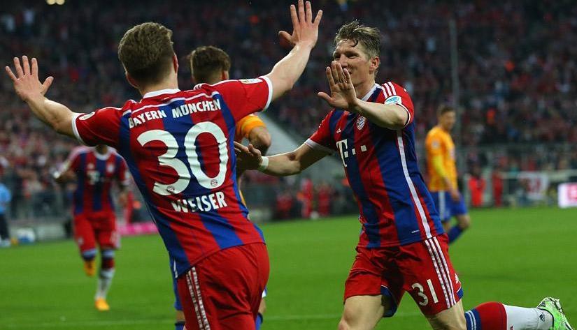 Bundes Liga: Prediksi bayern Munich vs hamburg 15/8/2015