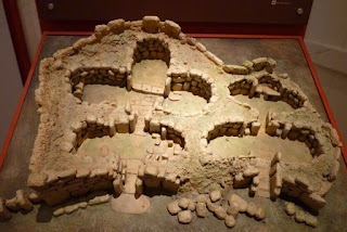 Maqueta de los Templos de Ggantija.