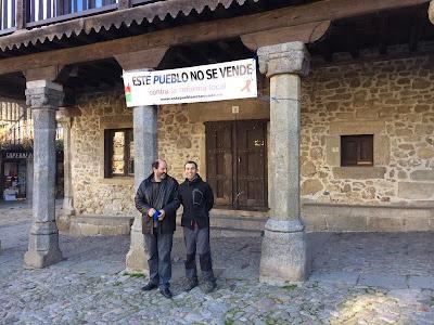 La Alberca, este pueblo no se vende, contra la reforma local