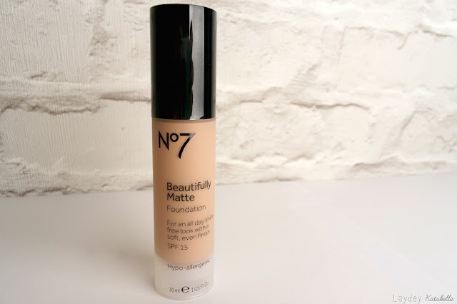 photo of No7 Beautifully Matte Foundation