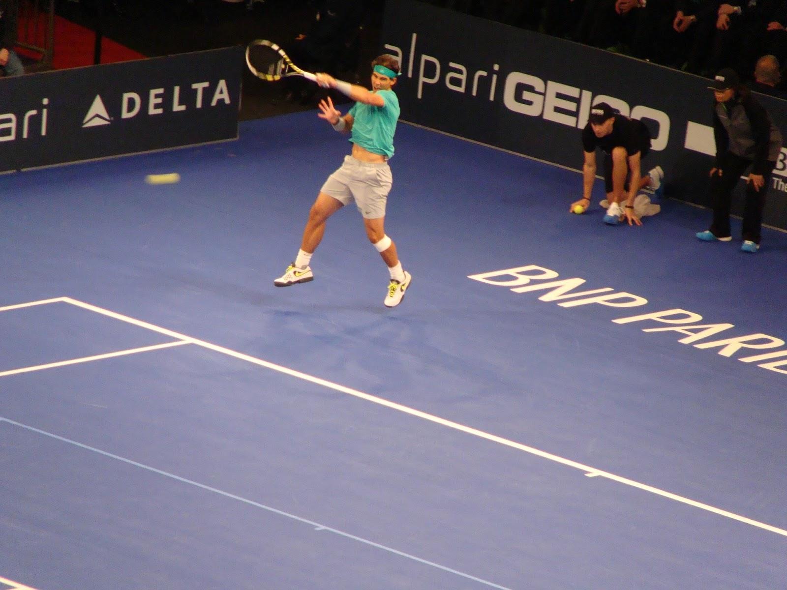 New Angoul Me Soir E Tennis Au Madison Square Garden