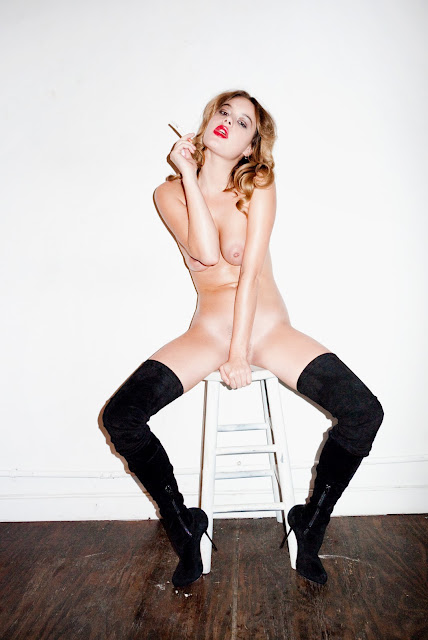 Camille Rowe Naked Body Full-Frontal By Purple Magazine