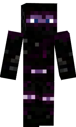 Minecraft Custom Maps And Skins Ender Ninja Skin - Ninja skins fur minecraft