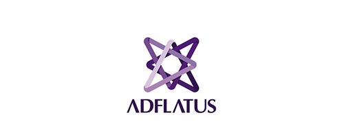 Adflatus Logo Design
