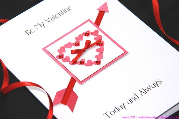 Valentine day Handmade gift cards – Make a Valentine Day Card Online