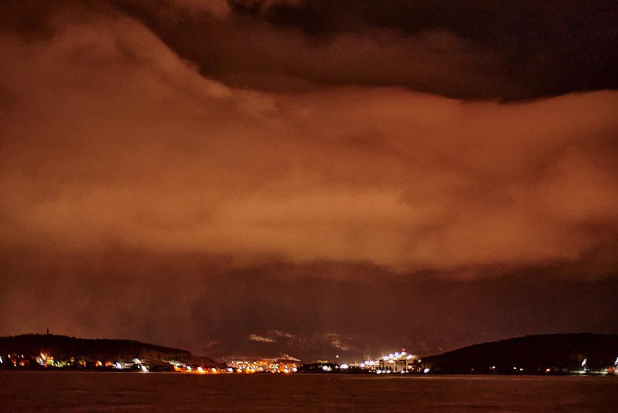 К острову ночью