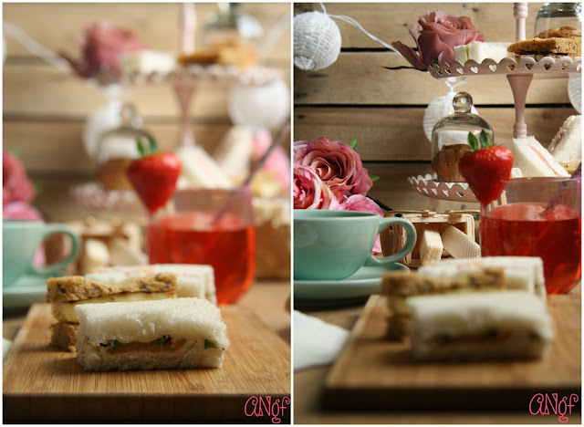 Table styled for a gluten free afternoon tea from Anyonita-nibbles.co.uk