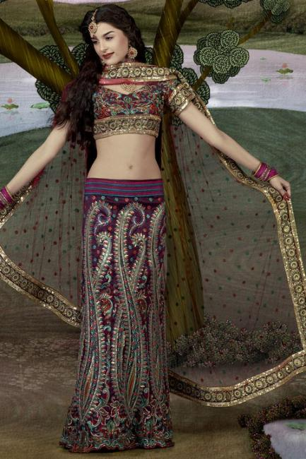 Giselli Monteiro Latest Photoshoot In Indian Wedding Clothes