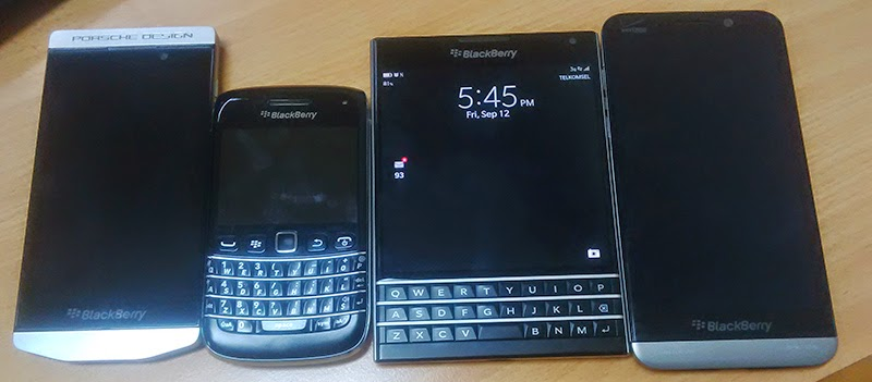 BlackBerry Passport Compare