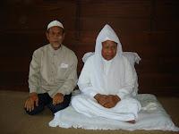 Tuan Guru Jahid Sidek bersama Cucu Syeikh Abdul Wahab Rokan