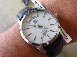 ORIENT DAY DATE WHITE DIAL - PRESIDENT - AUTOMATIC