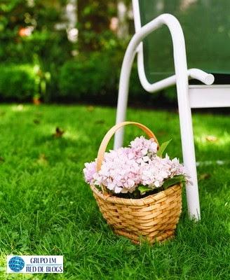 Las cestas para usar en el exterior