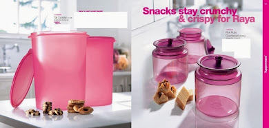 CANISTER N RUBY TUPPERWARE MALAYSIA
