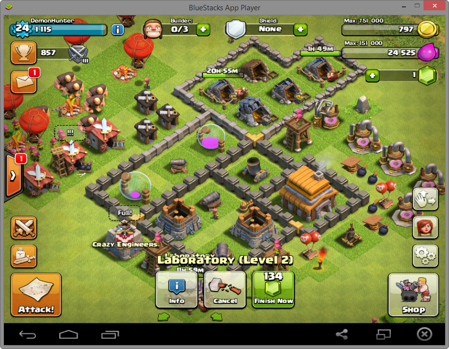 Cara Main Game Coc Di Pc Tanpa Bluestack