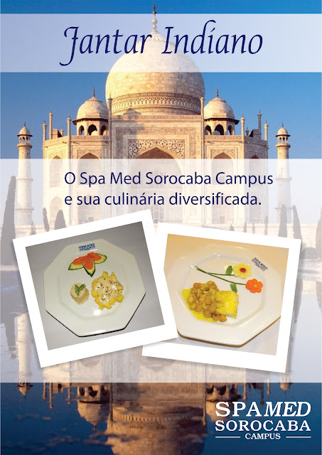 Culinaria Diversificada - Jantar Indiano