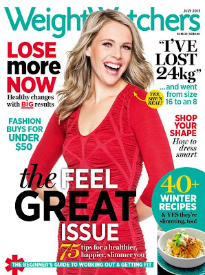 Spotlight on Ally Russel - Weight Watchers Cover Star, July 2013
