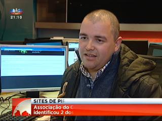 Reportagem sobre o encerramento de sites de partilha portugueses