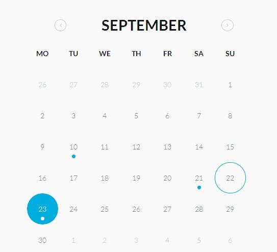 Calendar Design Html Css : قوالب كليندر free calendar templates html css موقع