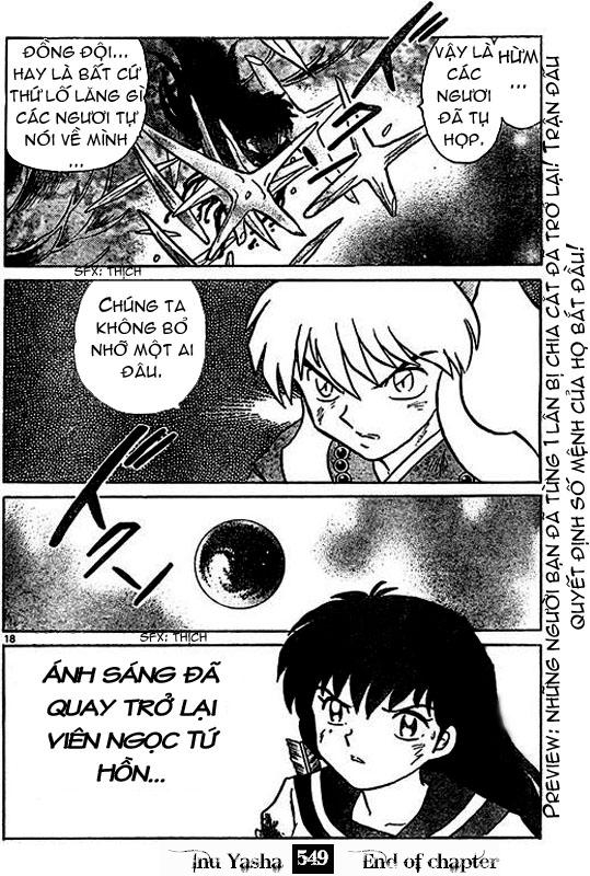 Inuyasha-Khuyển Dạ Xoa-Bản Đẹp chap 516 Trang 17