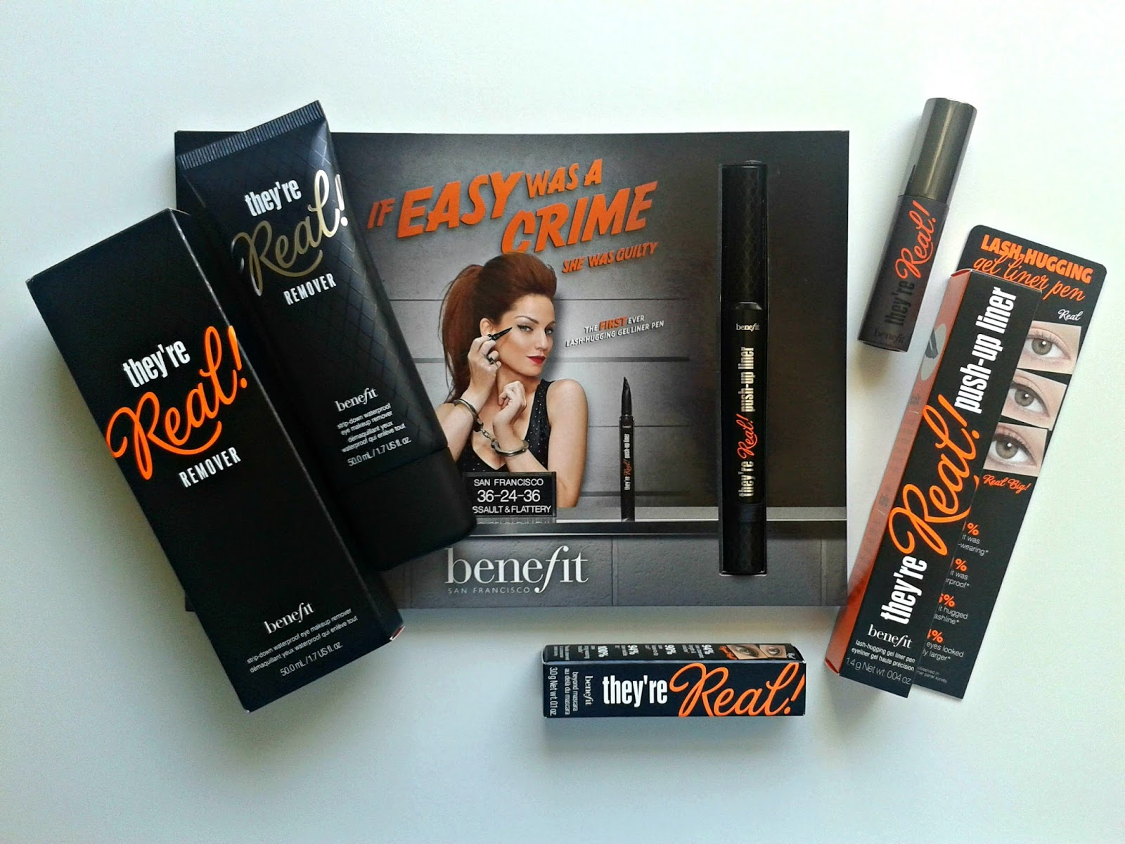Benefit They're Real! Trio (Push-Up Liner, Remover & Mascara) Review Beauty In-depth