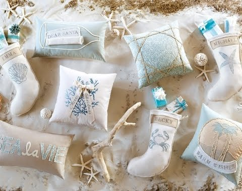 coastal tidings Christmas collection from Eastern Accents