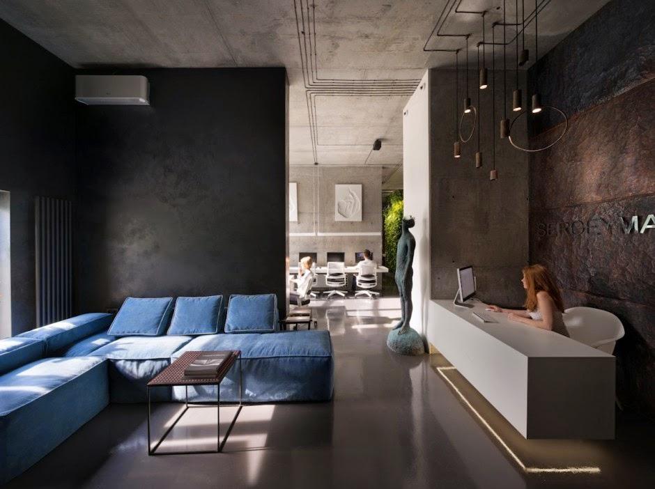 By zonarquitec oficina taller de sergey makhno kiev for Oficinas de arquitectura