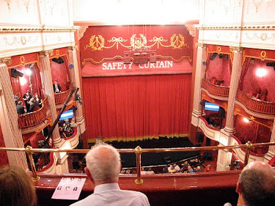 Balcony Seats at the New Theatre