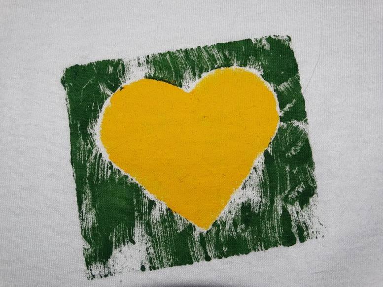 Faça Você Mesmo (DIY): Camiseta do Brasil - Copa 2014