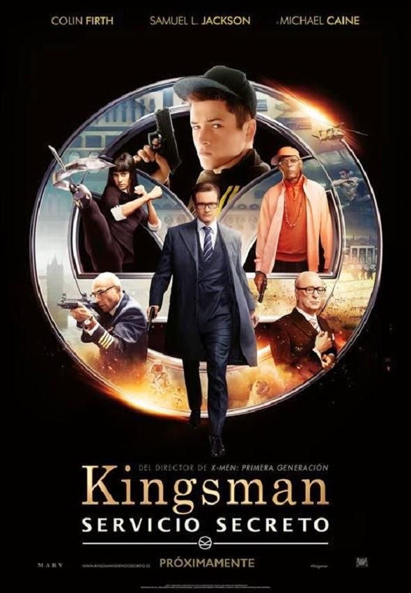 Imagen del Póster de 'Kingsman: Servicio Secreto'