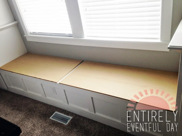 How To Make An Easy Diy Bench Cushion Entirely Eventful Day