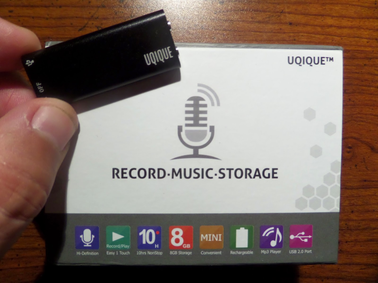 Uqique Mini Digital Voice Recorder