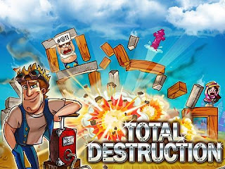 Screenshots of the Total destruction: Blast hero for Android tablet, phone.