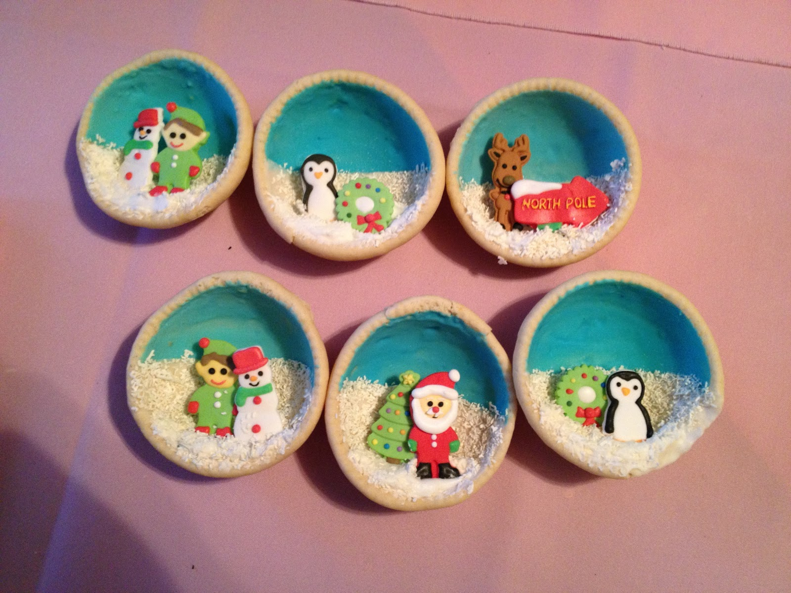 Gourmet Specialty S Snow Globes Sugar Cookies