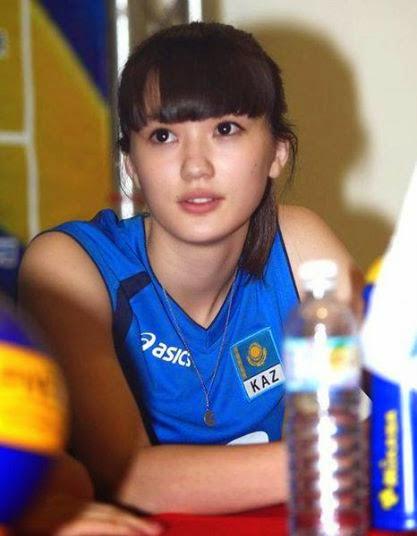 Wow! Cantiknya Atlet Voli Kazakhstan Ini!   Blog Prediksi Bola
