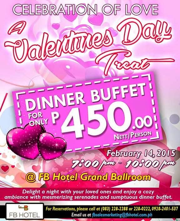 Valentine's Dinner Buffet at FB Hotel