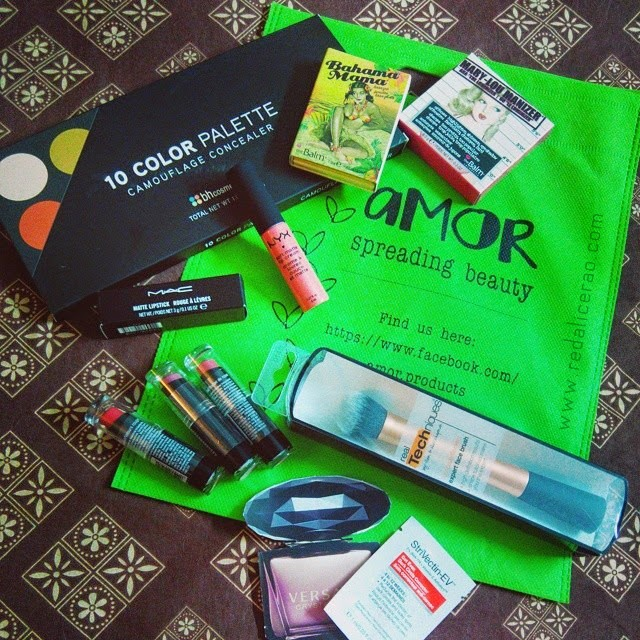 Makeup Haul, June Makeup Haul, Red alice Rao, redalicerao, beauty blog of Pakistan