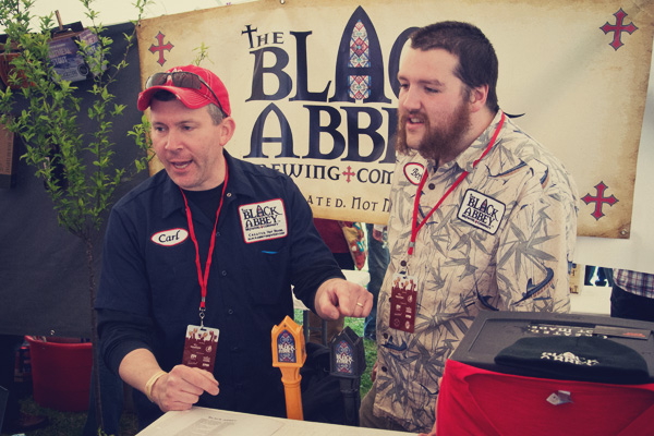 Black Abbey Brewing at the 2014 East Nashville Beer festival
