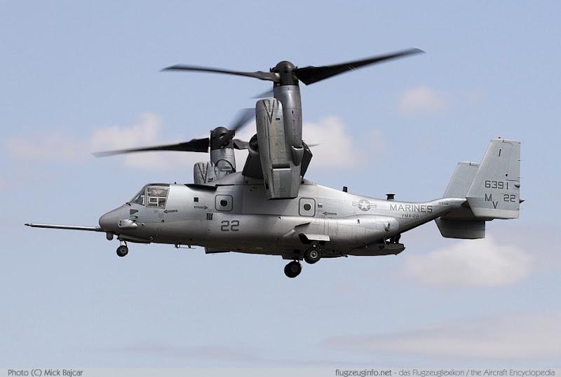 Bell-Boeing V-22 Osprey Tiltrotor Aircraft