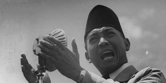 Soekarno dan kisah-kisah lucu di awal kemerdekaan RI