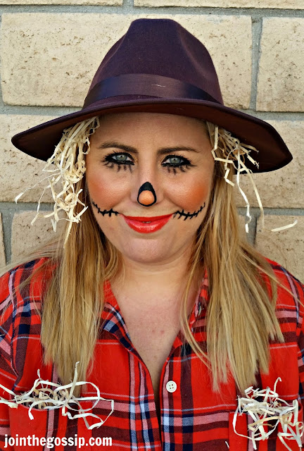 scarecrow makeup Halloween costume