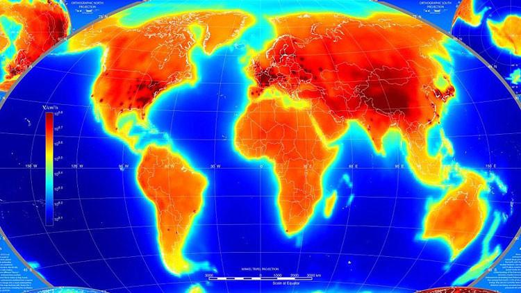 ¿Que hay en el centro de la tierra?