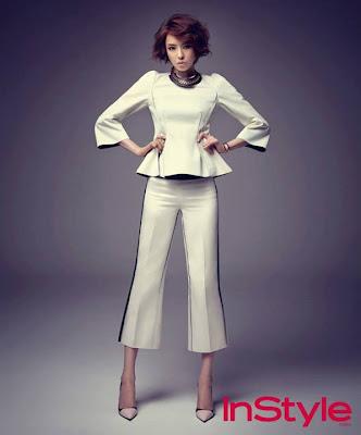 Lee Da Hee - InStyle Magazine August Issue 2013