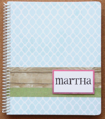 A Pop of Style: Organize This: Personalized Planners