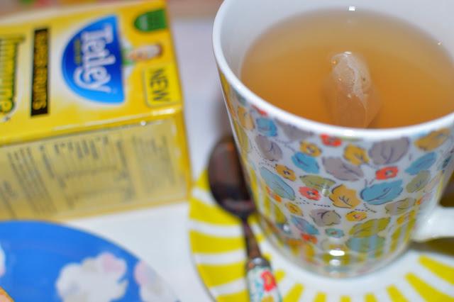 Tetley Tea Winter proof the family