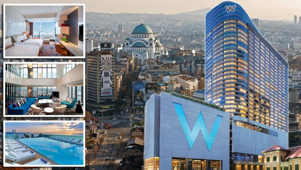 Belgrade Serbia Starwood Hotels Resorts Worldwide Inc Announced An Agreement With Waterfront Llc To Debut The Iconic W Brand In